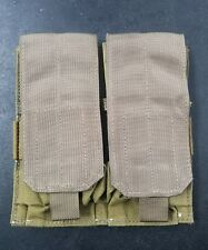 Eagle Allied Industries SFLCS Double (2x2) Magazine Mag Pouch - MJK Khaki Tan