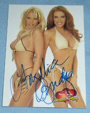 Angelica Bridges Signed 2003 BenchWarmer Card #96 Autograph Playboy Baywatch