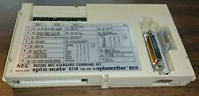 VINTAGE NEC Spin Mate 6110 Spinwriter Printer Command Set 8810 8800 RS232C Rare!