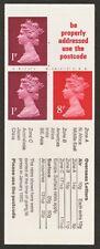 Fa11var Jan 1980 London Stamp Exhibition Folded Booklet - Miscut - good perfs