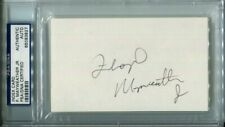 Floyd Mayweather Jr. Signed Index Card 1998 EARLY AUTOGRAPH PSA Boxing Vintage