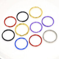25mm TOP QUALITY MIXED ROUND SPLIT KEY RING DOUBLE LOOP CRAFTS FINDINGS KEYRINGS