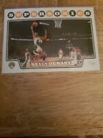 KEVIN DURANT 2008-2009 Topps #156 Thunder Supersonics 2nd Year