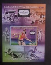 Papua New Guinea 2010 19th Commonwealth Games Tennis MS1431 MNH UM unmounted