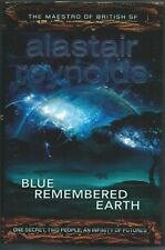 Blue Remembered Earth by Alastair Reynolds Hardback Book 2012 New Unread