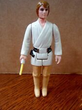 1977 Kenner Star Wars Brown Hair Farmboy Luke Skywalker Action Figure A New Hope