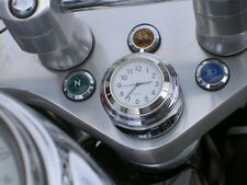 MOTORCYCLE CLOCK STEM NUT MOUNT ALL JAPANESE BRITISH WHITE DIAL SHADOW VULCAN