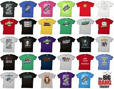 The Big Bang Theory Choose T-Shirt Bazinga Sheldon Kitty