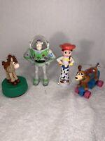 Toy Story Lot Collection Of Toys | Jessie, Buzz Lightyear, Slinky Dog, Bullseye