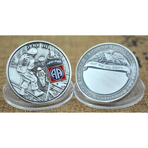 Airborne Division All American Commemorative Challenge Coin Collection GiftSG