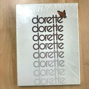 Vintage Dorette Stockings Taupe size 9 Sealed 3 Pairs Box 0106 Seamless Mesh ST
