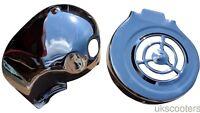 ukscooters LAMBRETTA CYLINDER COWL FLYWHEEL COVER CHROMED GP LI TV SX