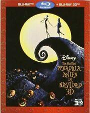 Pesadilla Antes de Navidad (Blu-ray 2D + Blu-ray 3D, 2011, 2 Discos)