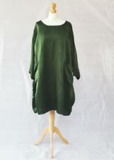 Curvacious Apparel/Nila Rubia bamboo linen Roshan Dress