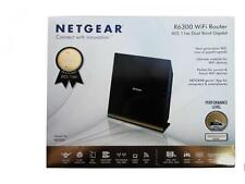 Netgear R6300 Dual-Band Wireless Smart WiFi AC1750 Gigabit Router R6300v2