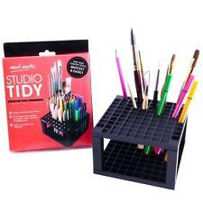 Pencil Pen Paint Brush Holder Organizer Storage Rack Marker Gel Pens Studio Art
