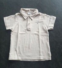 MEXX | Beigefarbenes BABY T-SHIRT | Polo Shirt | unifarben | Gr. 80 (12-18M)