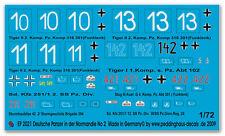 Peddinghaus 2021 1/72 Carri Armati Tedeschi in der Normandia No 2