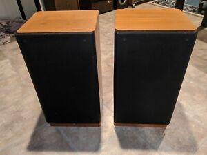 Vintage ADS A/D/S L9e Studio Monitor Loudspeaker Stereo 3Way Wood Speakers Pair