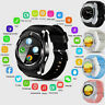 Waterproof V8 Bluetooth Smart Watches GPS SIM Camera Wrist Watch for Android IOS