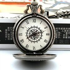 Black Butler Sebastian Michaelis Cosplay Pocket Watch