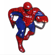 Fashion SpiderMan Belt Buckle Men Superhero Cosplay Metal Red/Blue Belt Buckle