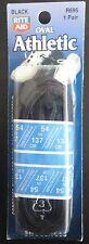 """54"""" Black (OVAL) Athletic Shoelaces R695 Shoe Lace"""