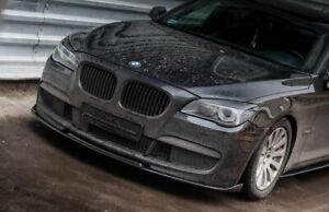 For BMW 7 Series F01 F02  P Performance Sport Front Spoiler / Lip / Valance M +