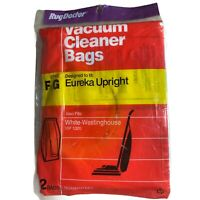 Rug Doctor Brand F&G Eureka Upright Vacuum Cleaner 1 Package of 2 Bags New B-3