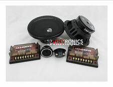 """MASSIVE AUDIO ZK6 6.5"""" COMPONENT SYSTEM WITH 1"""" TWEETER 400w"""
