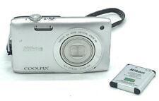 Nikon Coolpix S3300 Digital Camera 6x Zoom 16.0 Megapixels - FREE SHIP!