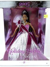 **NIB BARBIE DOLL 2005 HOLIDAY CHRISTMAS BOB MACKIE BLACK AA H0178