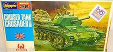TANQUE DE CRUCERO CRUSADER II BRITISH Ejército Hasegawa Mini Box 26MB 026 LF4 å