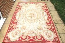 Vintage French Aubusson wool hand knotted HANDMADE rug 250 x 155 cm