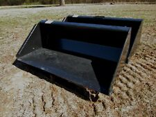 "TEREX PT30 / ASV RC30 skid steer 48"" quick attach grading edge Bucket -Ship $139"