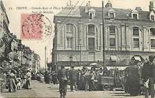DIEPPE - Grande rue et place nationale, jour de marché (28)