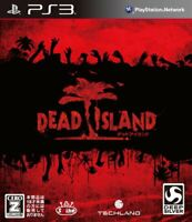 Used PS3 Dead Island PlayStation 3 JAPAN OFFICIAL IMPORT FREE SHIPPING