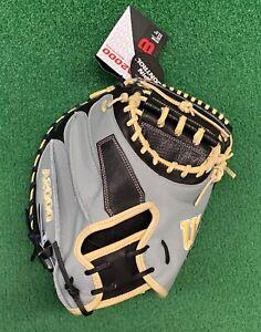 """2021 Wilson A2000 SCM1D 33.5"""" Baseball Catchers Mitt Spin Control - WBW100116335"""