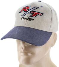 R/T Dodge Blue Baseball Cap Trucker Hat Snapback Mopar Charger Challenger
