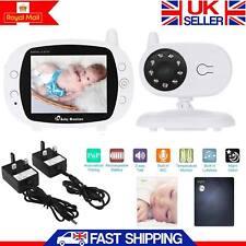 """Nueva 2.4GHz 3.5"""" Pulgadas LCD Monitor bebé Video Inalámbrico cámara noche visión Audio"""