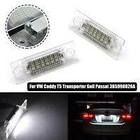 LED License Number Plate Light For VW T5 Caddy Golf Jetta Passat Skoda Touran DG