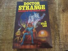 Doctor Strange Fireside 1979 Softcover First Print Stan Lee Marvel Comics NM 9.0