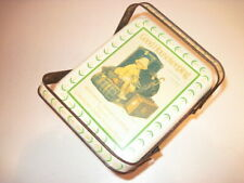 VINTAGE CHEIN CO CHEINCO TIN SEWING OR LUNCH BOX WITH LID AND HANDLES