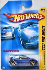 HOT WHEELS 2007 NEW MODELS VOLKSWAGEN GOLF GTI #27/36 BLUE