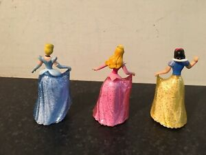Disney Princesses Aurora Sleeping Beauty Cinderella Snow White With Ball On Base