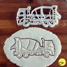 Cement Mixer Truck cookie cutter | Suitable for construction themed kids party