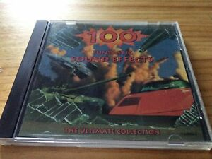 RARE! ULTIMATE COLLECTION - 100 FUNTASTIC SOUND EFFECTS - AUDIO SAMPLE CD (1995)