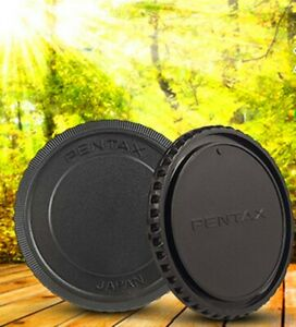 Rear Lens Cap Cover and Front Body Cap Specialized for Pentax 645 PK645 FA645