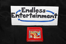 Pokemon Red Version GB Nintendo Game Boy Tested Works Great! Cart Only!
