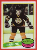 1980-81 Topps #140 Ray Bourque EX-EXMINT+ ROOKIE RC Boston Bruins FREE SHIPPING